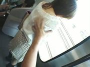 The Japanese woman is molested in a train 2