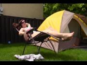 Camp quickie - mom Natasha
