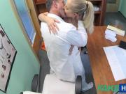 FakeHospital Doctor fucks his hot blonde bosses wife
