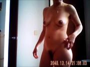 Gran desnudo frontal de Zara se le ve todo