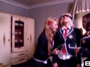 BANG.com: School Girl Harlots Fuck The Professor