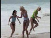 Barely Legal-pool lesbian orgy