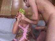 Whitney Stevens anal action