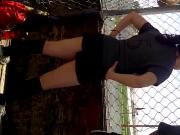 Ale mexican friend playing soccer