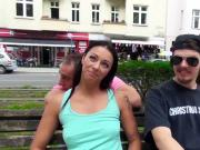 Bums Bus - Dirty German sex in the backseat of the car
