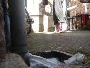 7 inch pink Ellie Heels
