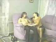 Amateur Russian Mother and son