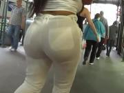 hot white pants