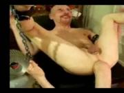 gay assfuck with an amputated foot