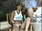 Sweet Suki Tries In On Her Own Only To Get It On The Back