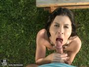 Cassie Right outdoor anal