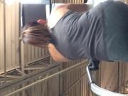 Latina milf working on booty vid1