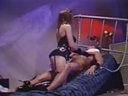 Black Throat ... Christy Canyon and Peter North