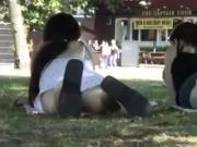 voyeur in a park