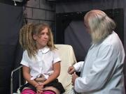 Slut gets aroused by doctor's sex therapy