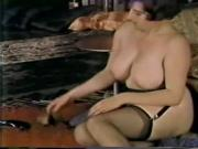 classic busty mature pinup style short clip