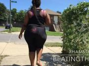 BUSTED #2 PHAT BOOTY BBW WALKING