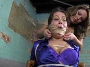 the fine art of gagging a chairtied female