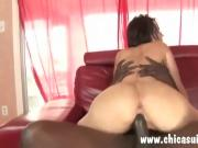 Hot Dana got a nasty creampie in her tight ass outdoors