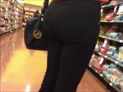 great ass in black spandex