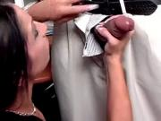 White MILF gets her pussy licked and fucked by black stud