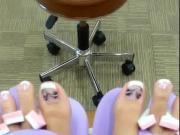 pretty redbone feet