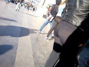 Young see through leggins teen
