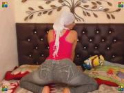 Sexy arabic girl Twerk