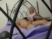 Domme Face Sits her Cuck Sub