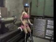 Sexy Slutty Blonde fucks at work