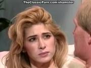 Tiffany Mynx, Dick Nasty in deep throat from busty classic