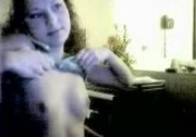 Cute teen show boobs on webcam