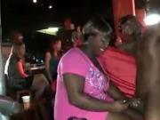 Thick Mature Latina Jacks Off The Black Stripper