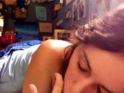 Young Bored Girl makes her First Masturbation