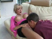 blonde mature and young guy part2 by jackass