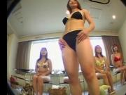 asian beautys swimsuit audition hidden cam fake