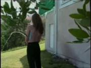hose backyard