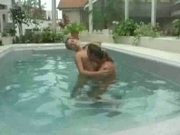 Sucking and Fucking in the pool - fotoplace