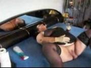 German Mature Masturbation