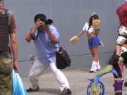 Akira Itsuki cosplaying