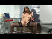 Alissa Pounding Dildos