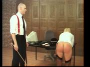 Strict Teacher spanks Hard