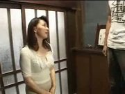 Married Japanese woman is taken advantage of