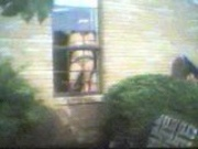 naked lady in window