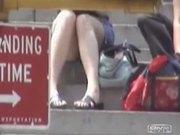 Culotte sur les marches