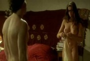 Former supermodel in a film nude scene