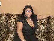Ebony BBW beauty
