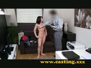 Casting - Anal, creampie and a slap