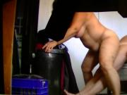 Horny Luanne riding his man