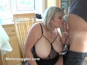 Alisha Rydes blowing a big cock